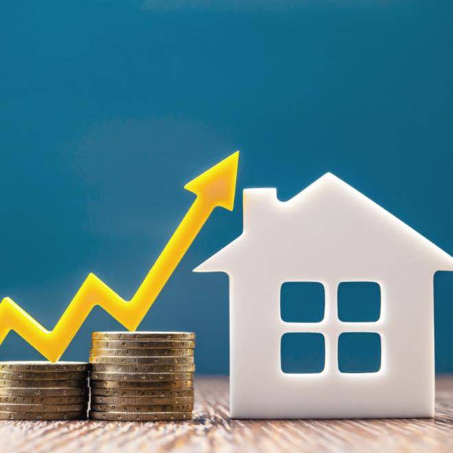 real estate market graph